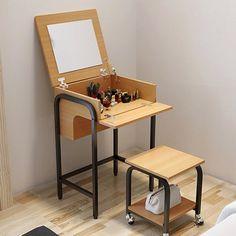 tocador moderno estilo japonés, ideal para espacios pequeños.