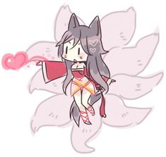 League_of_Legends ahri ahri Leona League Of Legends, League Of Legends Characters, Anime Neko, Kawaii Anime, Anime Art, Leg Of Legend, Liga Legend, Ahri Lol, Ahri League