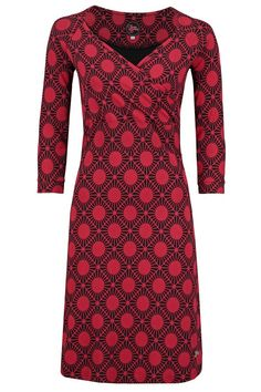 Dress Lemonade Stardot Red