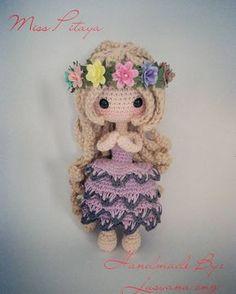 Kawaii Crochet, Love Crochet, Crochet Baby, Knit Crochet, Yarn Dolls, Knitted Dolls, Crochet Dolls, Crochet Doll Pattern, Crochet Patterns Amigurumi
