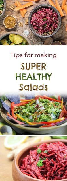 I get really excited about big healthy, hearty salads. In fact, I enjoy a vibrant salad for lunch every day (and often with dinner too). Rather unfortunately, many people's only experience with salad resembles a bit of limp lettuce, some waxed cucumber and over-sized tasteless tomato (which is probably genetically modified). Added to that, fast
