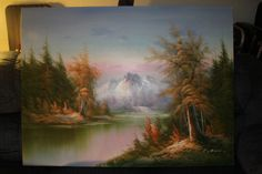 Hand painted Oil Paintings on Canvas. This is Canvas only as you see on the photo. Framing for right style & color can make this painting much, much different & better looking !