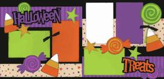 Halloween Treats Page Kit