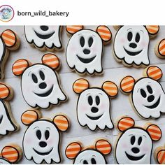 Halloween Baking, Halloween Cookies, Halloween Treats, Fall Halloween, Cake Cookies, Sugar Cookies, Thanksgiving Decorations, Holiday Crafts, Bakery