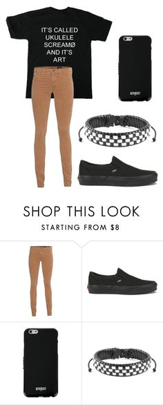 """""""It's Called Ukele Screamø and It's Art"""" by melchristie on Polyvore featuring AG Adriano Goldschmied, Vans, Givenchy and West Coast Jewelry"""