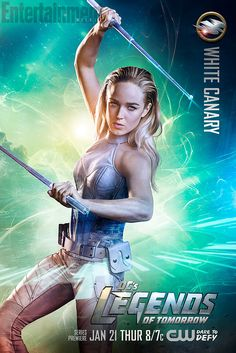 Legends of Tomorrow: White Canary braced for battle in character poster | EW.com