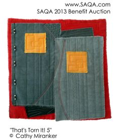 Art quilt by Cathy Miranker Fiber Art, Benefit, Quilting, Auction, Crafty, Sewing, Color, Dressmaking, Couture