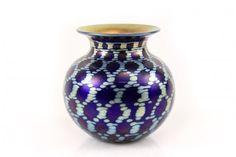 Lundberg Studios Art Glass Table Vase, Marked : Lot 1. Hammer Price: $250