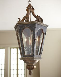 """French Lantern"" Pendant Light - for my entry way"