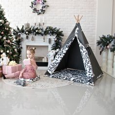 New teepees in our shop. Kids Teepee Tent, Teepees, Kidsroom, Play Houses, Hanging Chair, Toddler Bed, Handmade Gifts, Shop, Etsy