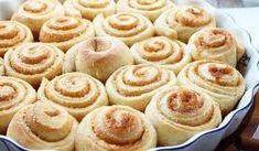 Škoricové slimáky bez kysnutia - Receptik.sk Apple Pie, Doughnut, Cheesecake, Muffin, Food And Drink, Sweets, Ale, Breakfast, Desserts