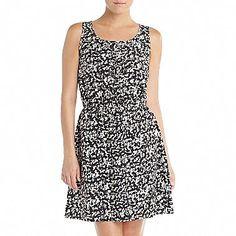 Pleat-Front Dress