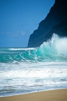 ✯ Polihale Beach - Hawaii. You have to have a 4WD to get to this beach and it takes almost an hour after you leave the main road.