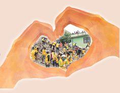 """네팔에서 꽃피운 하나님의교회(안상홍증인회) 봉사대""""네팔, 벌거룽(힘내세요).""""하나님의교회 세계복음선교협회(안상홍증인회) 현지 봉사활동"""