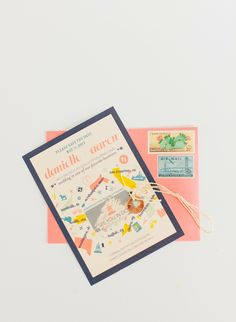 20 Chic Wedding Save The Date Invites From our wedding experts at Style Me Pretty, imaginative ways to get the word out. Cool Stationery, Stationery Design, Invitation Design, Invitation Cards, Party Invitations, Invites, Chic Wedding, Wedding Blog, Our Wedding