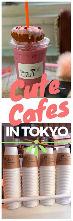 Get a local insiders tip on a trendy Insta-Worthy Cafe in Tokyo Japan slightly off the beaten path. Did I mention they have vegan donuts? YUM!