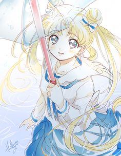 art sailor moon Tsukino Usagi what kind of awful anatomy is this---go to sleep holly! Sailor Jupiter, Arte Sailor Moon, Sailor Moom, Sailor Moon Fan Art, Sailor Moon Character, Sailor Moon Usagi, Sailor Venus, Otaku Anime, Manga Anime