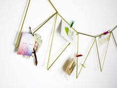 Girlanden & Wimpelketten - Ewige Girlande Messing - ein Designerstück von RAUMATA bei DaWanda