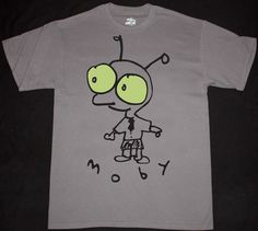 Moby little #idiot alternative dance band #electro pop new grey #charcoal t-shirt,  View more on the LINK: http://www.zeppy.io/product/gb/2/261127262598/