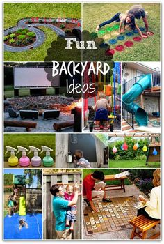 Helping Kids Grow Up: Super Fun Backyard Ideas Your Kids Are Going To Love