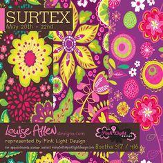 pink light studios Surtex flyer