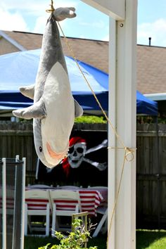 LOL for Fellow Shark Haters/Lovers! | Outdoor Pirate Party…
