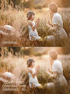 Adjusting the Clarity, Contrast and Vibrance in Llightroom to Create Soft, Dreamy Images. Pretty Presets for Lightroom.