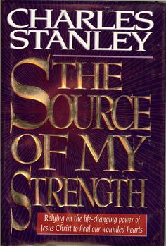 The Source of My Strength ~ Charles Stanley reading this book now! Life Application Study Bible, Books To Read, My Books, Living Bible, Charles Stanley, Life Changing Books, Spirituality Books, Christian Movies, Inspirational Books