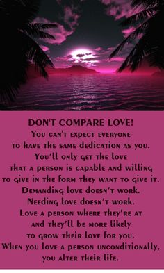 Don't Compare Love #relationshipadvice #couples #lastinglove #iloveu #justthetwo #usagainsttheworld #soulmates