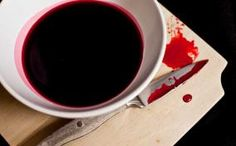 Edible Blood for Squeamish Vampires