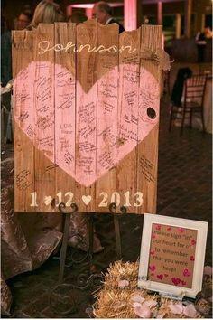 Decoração com pallets para um casamento rústico