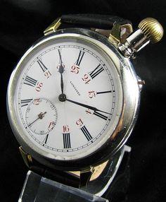 Breitling ロンジンのアンティークミリタリーブライトリングクロノグラフ 時計 Watch Antique ¥54000yen 〆10月05日