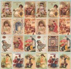 Papéis para Scrapbook - Costura Tag (SC-233). Disponíveis para venda no nosso site, entregamos em todo o Brasil.