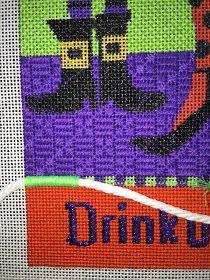 needlepoint, stitching, knitting, stitch guides
