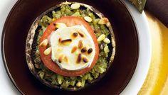 Vuohenjuusto-portobellot - K-ruoka
