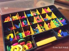 Frog Spot: Magnetic Letters in the Classroom