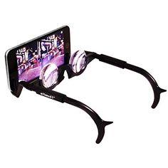 54ed3703a5 Stimuli VR 2VR Black Thin Mobile Hands Free 3D Glasses       AMAZON BEST