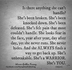 Warrior Goddess Training, Goddess Warrior, Woman Warrior, True Quotes, Motivational Quotes, Inspirational Quotes, Ego Quotes, Goddess Quotes, She Is Broken