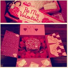Valentine Care Package ~ Love, Romance, Valentine's Day