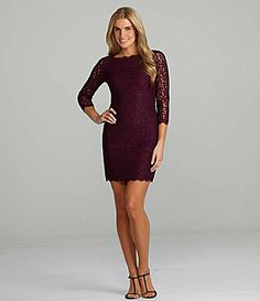 Adrianna Papell Lace Dress on shopstyle.com