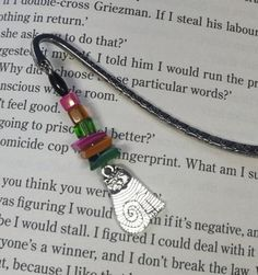 This bookmark is from my Quirky Cat range, lovingly handmade in Northern Ireland. Ive used glass and shell beads to compliment a Tibetan style marker and finished it off with a quirky Cat charm. The bookmark measures approximately 9 cm and comes presented in an organza bag, making it perfect as gift Organza Bags, Northern Ireland, My Images, Bag Making, Markers, Compliments, My Design, Shell, Gift Wrapping