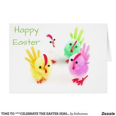 TIME TO ***CELEBRATE THE EASTER SEASON*** CARD