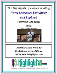 American Girls: Julie Novel Literature Unit Study and Lap Book
