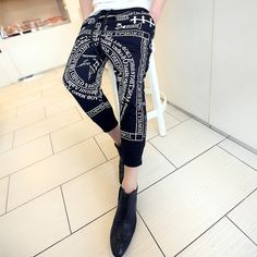 2013 new Harajuku Edison Japanese KTZ harem pants casual pants men\'s fashion personality necessary influx of men-ZZKKO ($16.00) - Svpply