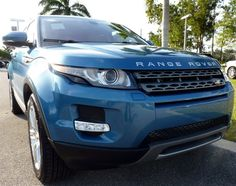 Mauritius Blue Range Rover Evoque