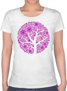 Ayşe Kıyas - Hipi Ağaç - Kendin Tasarla - Bayan U Yaka Tişört