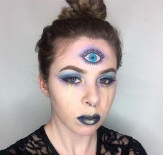 Самые смелые идеи для макияжа на Хэллоуин