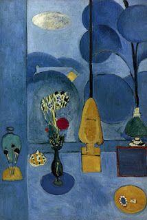 Henri Matisse, Blue Window, 1913