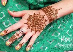 Henna Mandala and Cuff
