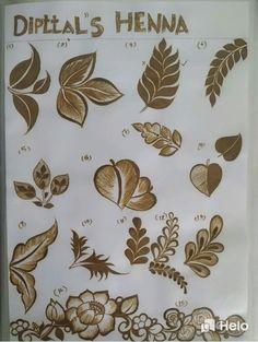 Henna Flower Designs, Pretty Henna Designs, Modern Henna Designs, Mehndi Designs Feet, Back Hand Mehndi Designs, Beginner Henna Designs, Full Hand Mehndi Designs, Henna Art Designs, Mehndi Designs For Girls